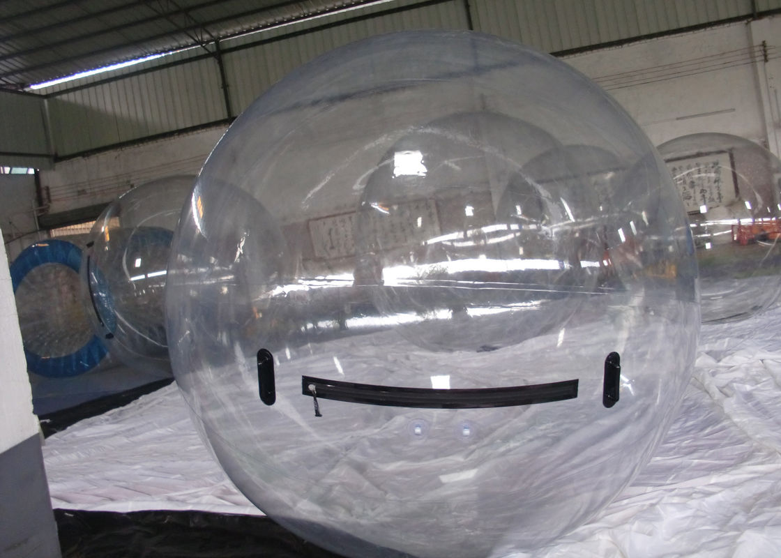 Transparent Inflatable Water Toys , Jumbo Crazy Water Ball for Kids