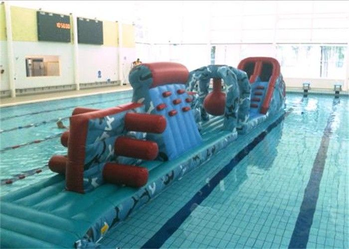 Exciting Inflatable Obstacle Course Floating Inflatable Water Obstacle Course For Games