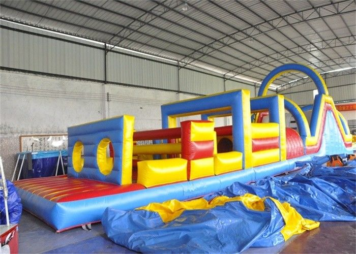Safety Inflatable Obstacle Course Kids Obstacle Course