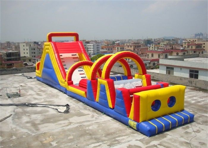 Attractive Inflatable Obstacle Course For Blow Up Kids And Adults Games