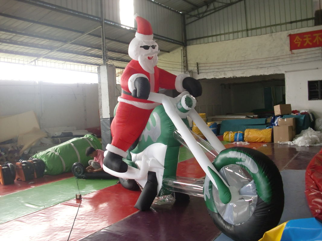 inflatable outdoor christmas decorations giant inflatable santa claus - Cheap Inflatable Christmas Decorations