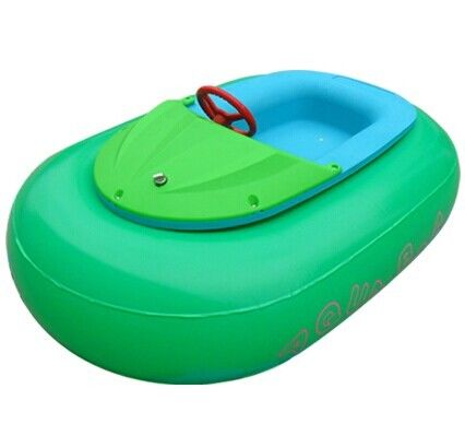 China Inflatable swimming pool Toys Boat / Small Electric kids Paddle Boat factory