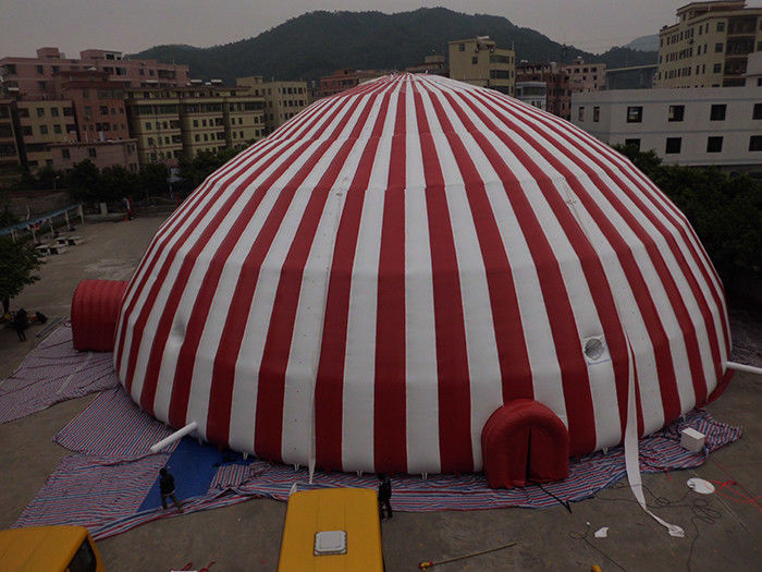 Commercial 500 People Inflatable Dome Tent / Large Inflatable Marquee Tent supplier