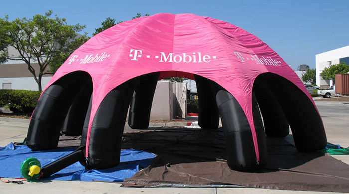 Outdoor Advertising Inflatable Tent , Inflatable Spider Dome Tent ...