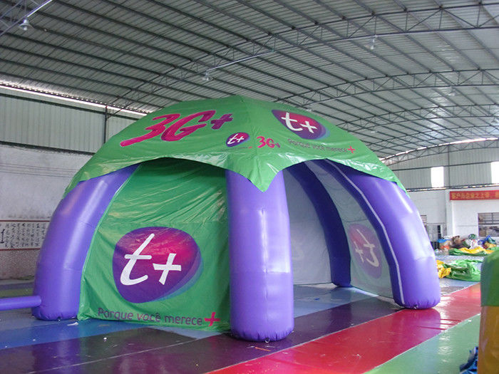 China Promotion Display Inflatable Tent , Inflatable Spider Tent For Advertising factory