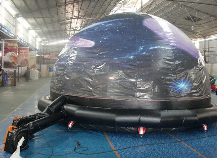 China Portable Astronomical Inflatable Dome Tent / Planetarium Tent for Teaching factory