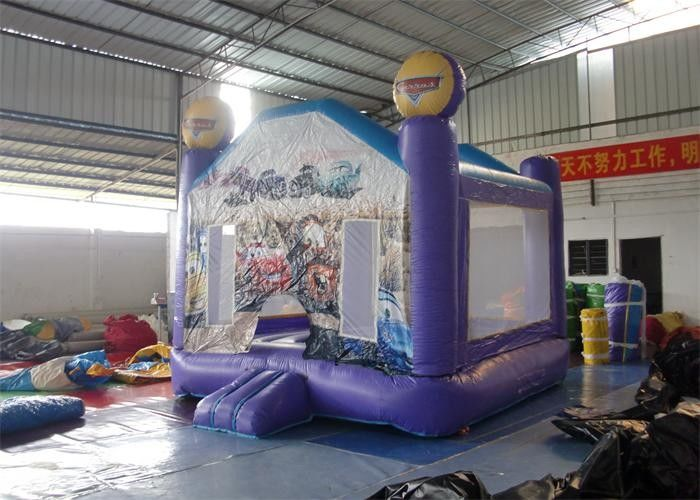 China Mini Car Printing Inflatable Bouncer, Commercial Grade Bounce Houses factory