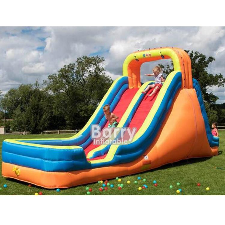 EN14960 Inflatable Water Slides For Kids Backyard ...