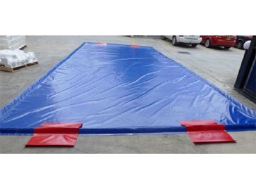 Special Inflatable Car Wash Mat Superior Soft PVC Tarpaulin