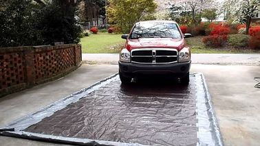 Mobile Valeting Wash Pad Containment Systems PVC Washpad For Cleaning