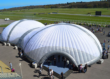Outdoor White Giant Permanent Tent Hard Shell Tent For Big Event / Party