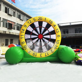 Indoor Playground Inflatable Dart Board , Inflatable Garden Toys For Toddlers