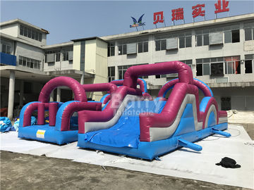 0.5mm PVC Material Customized Giant Inflatable Obstacle Course Combo