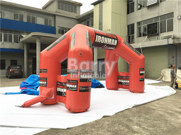 Custom Inflatable Advertising Products Giant Welcome Start Finish Line Inflatable Entrance Arch