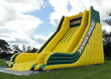 Outdoor Commercial Inflatable Slide, Exciting Giant Inflatable Dry Slide For Adult