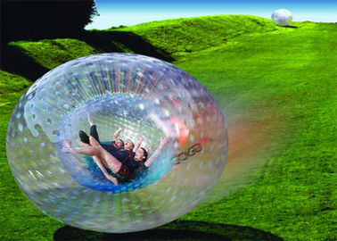 China Amazing Outdoor Inflatable Toys , Giant Human Inflatable Zorb Ball EN71 distributor