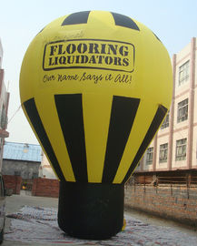 China PVC Tarpaulin Inflatable Balloon , Inflatable Ground Balloon for Advertising distributor