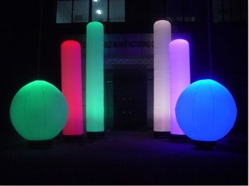 Colorful Advertising Inflatable LED Lantern / Lighting for Event Celebration
