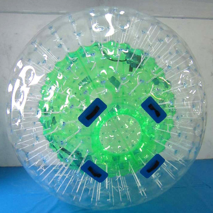 Football Inflatable Yard Toys 0.65-0.9mm PVC / TPU Land Human Zorb Ball Sport Entertainment