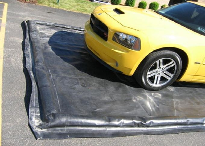 Water Reclamation System Inflatable Car Wash Mat Water