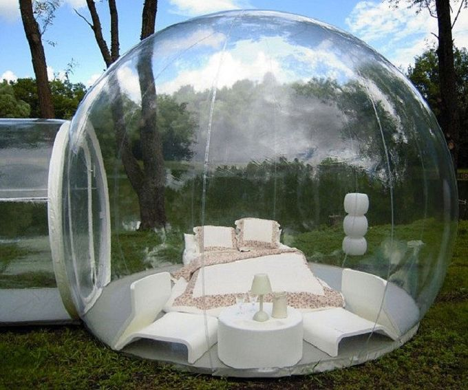 Transparent Lawn Outdoor Inflatable Tent Clear Inflatable C& Tent For Family & Lawn Outdoor Inflatable Tent Clear Inflatable Camp Tent For Family
