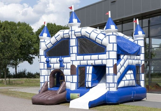Amazing Castle Combo Bounce House Jumping House With Slide 5.6x5x3.5m