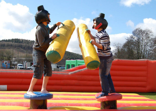 Gladiator duel Sport Inflatable Interactive Games Gladiator Flighting , Wicked Jousting Outdoor