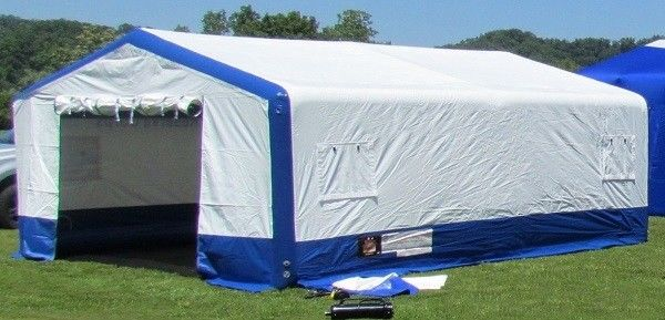 Blow Up Shelter : Outdoor large inflatable emergency tent hospital medical