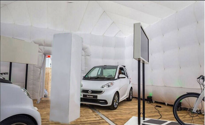 Inflatable Car Garage : Portable marquee inflatable tent for car garage white