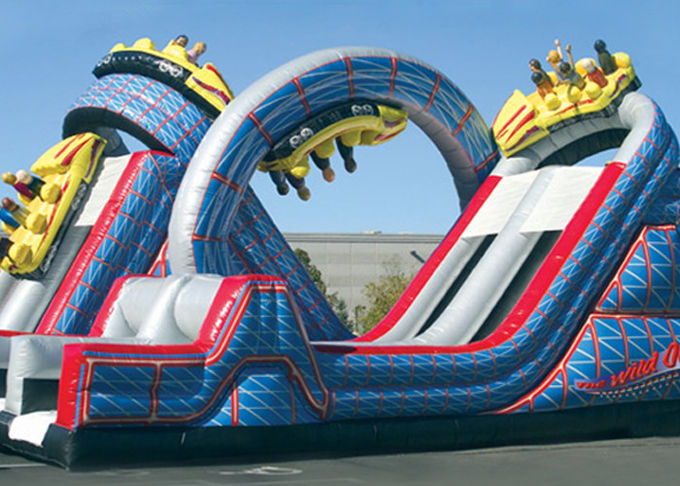 Wild One Obstacle Course / Bouncy Obstacle Course / Inflatable Obstacle Course For Kids