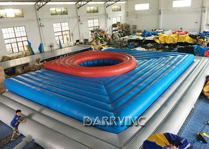 Giant Commercial Inflatable Sports Games For Volleyball Inflatable Volleyball Court