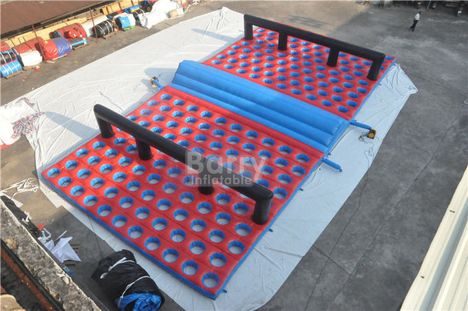 Inflatable Obstacle Race , Inflatables 5k Obstacle Mattress Run Size 20x10x1.2M