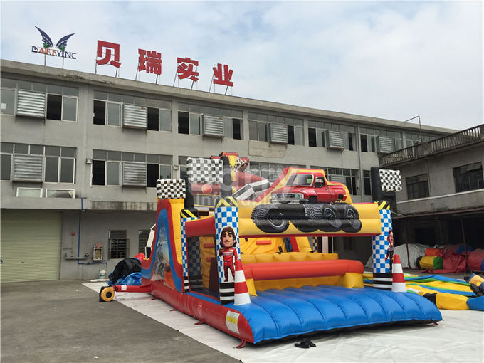 Water-Proof Inflatable Obstacle Course / Inflatable Outdoor Play Equipment