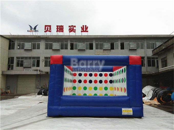 Outdoor Electric Twister Inflatable Interactive Games With Logo Printing OEM