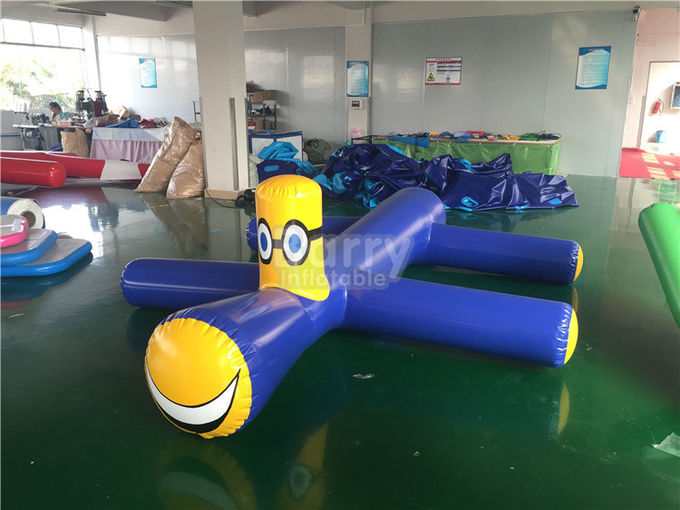 Fireproof Summer Ride On Inflatable Water Toys For Outdoor