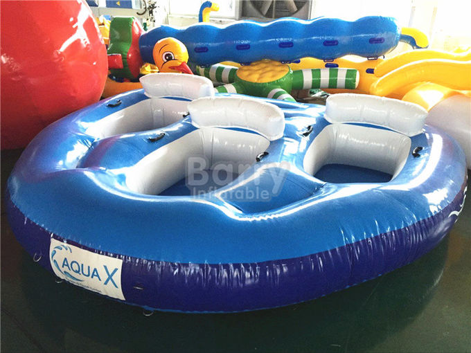 Blue And White Baby Inflatable Water Toys For Swimming Pools SCT EN71