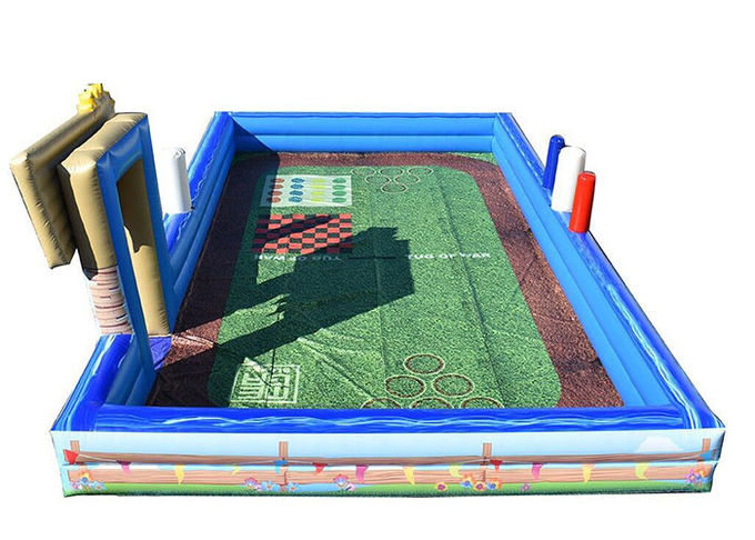PVC Inflatable Sports Games , Kids Outdoor Lawn Games With OEM And ODM Service