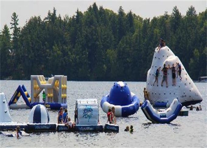 Professional Huge Inflatable Water Park / Inflatable Sea Water Park For Event