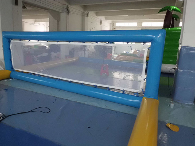 Durable Inflatable Water Games / Sports Equipment Volleyball Area