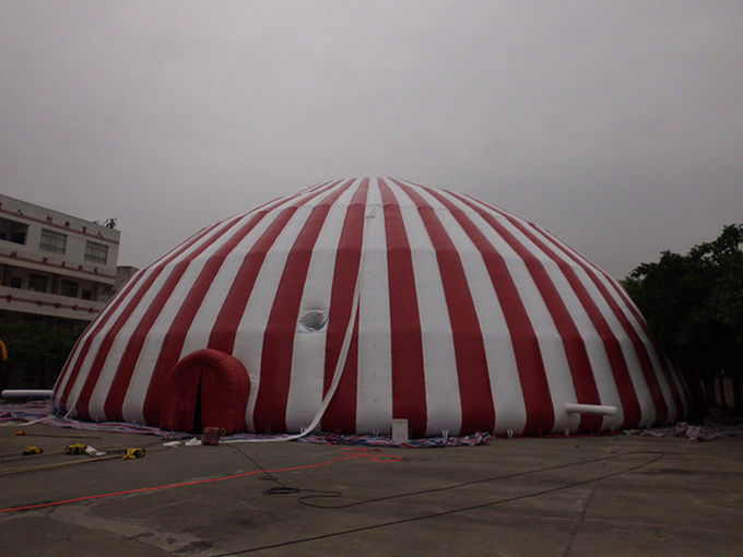 Commercial 500 People Inflatable Dome Tent / Large Inflatable Marquee Tent