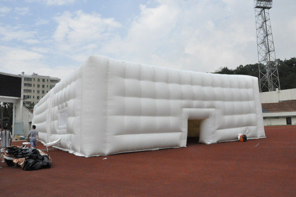 OEM Durable PVC Inflatable Event Tent / Inflatable Cube Tent For Exhibition